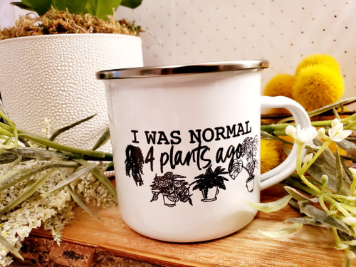 Normal 4 Plants Ago Camp Mug