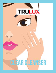 CLEAR CLEANSER - CLEAR SKIN RANGE - MADE BY TRULUX