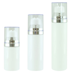 LUMSON APP 355 S WHITE, SILVER COLLAR, 15ML/30ML/50ML FAMILY SHOT
