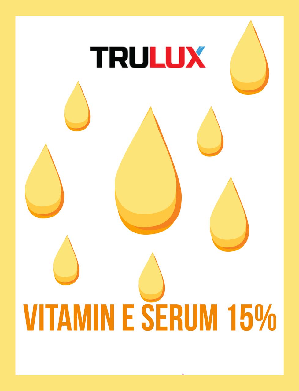 VITAMIN E SERUM 15%