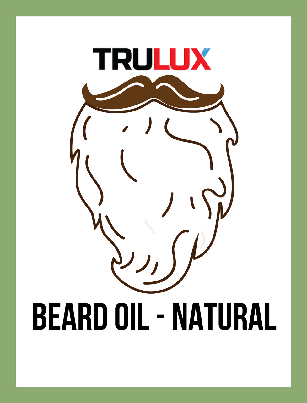 BEARD OIL - NATURAL
