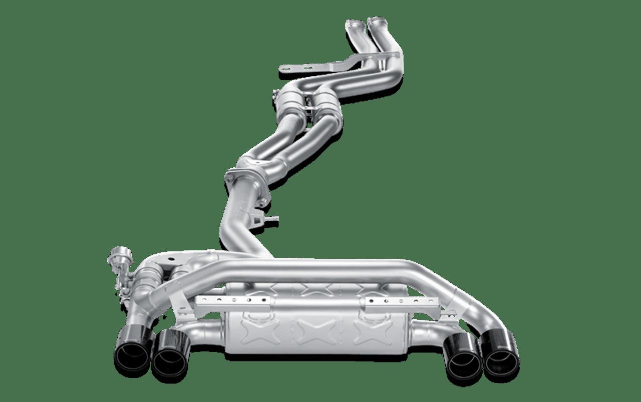 Akrapovic Exhaust Evolution Line - BMW 1M Coupe (E82) 2011