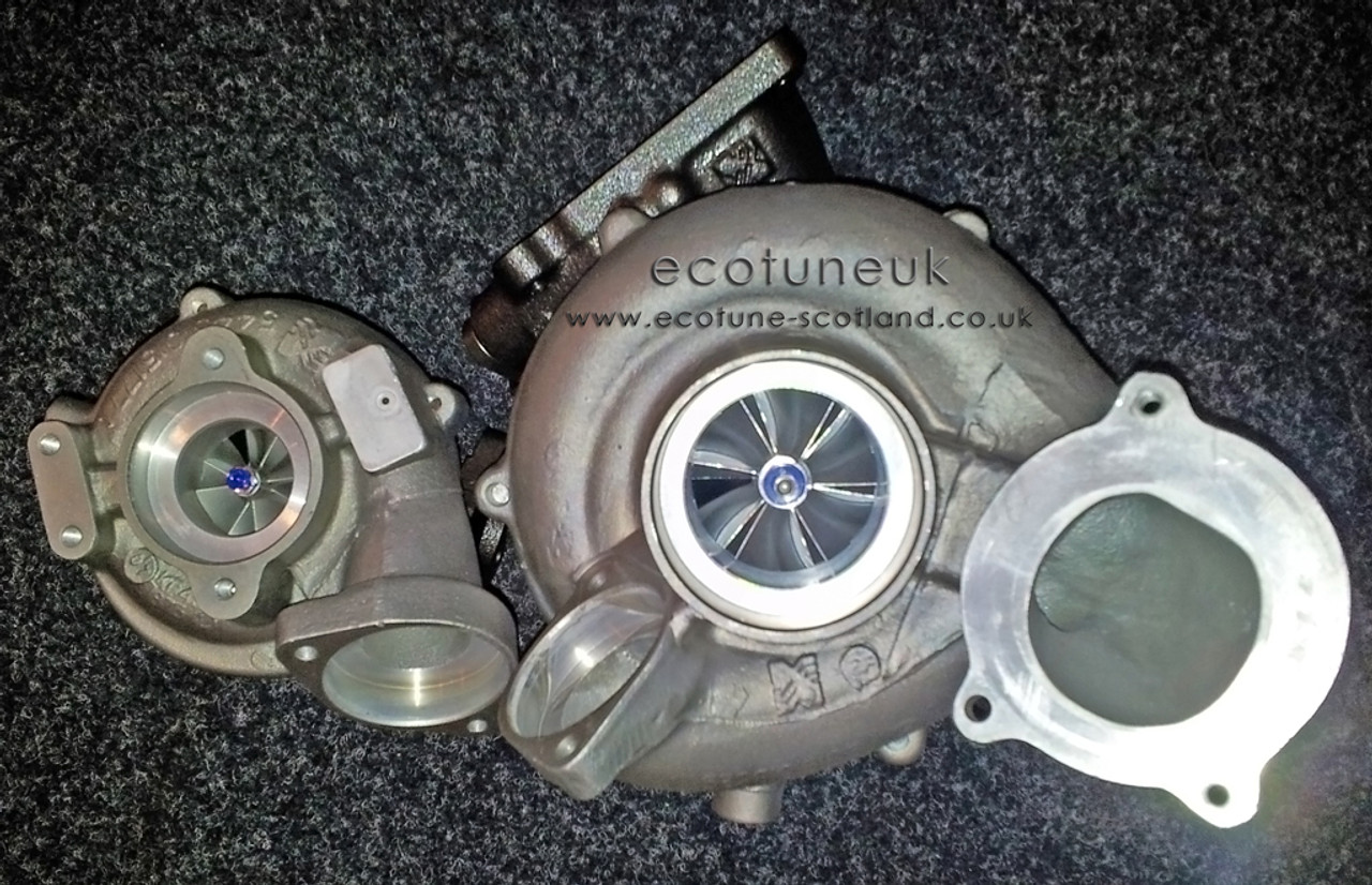 ECOTUNE 35D Stage 3 Hybrid Turbochargers - Ecotune