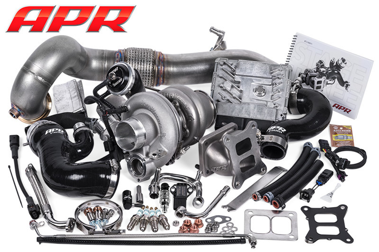 APR Stage 3 Turbo Kit - 2 0T EA888 Gen 3 (4WD) - Ecotune