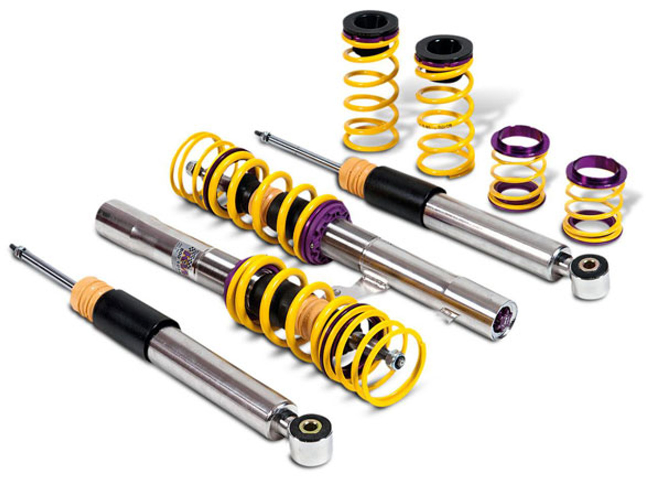 KW V3 Coilovers - Golf V GTI (with DSG-gearbox) 12/04- Max Front