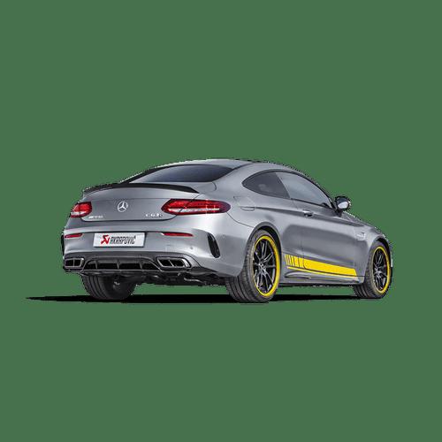 Akrapovic Mercedes-AMG C 63 Coupe (C205) Evolution line (Titanium