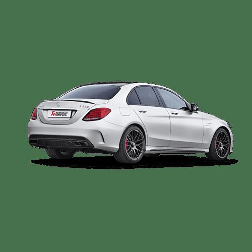 Akrapovic Mercedes-AMG C 63 Sedan (W205) Evolution Line (Titanium) Cat-back system