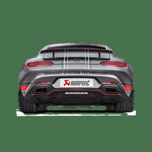 Akrapovic Mercedes-AMG GT (C190)/GT Roadster (R190)/GT S (C120)/GT C Roadster (R120) Evolution Line (Titanium) Cat-back system