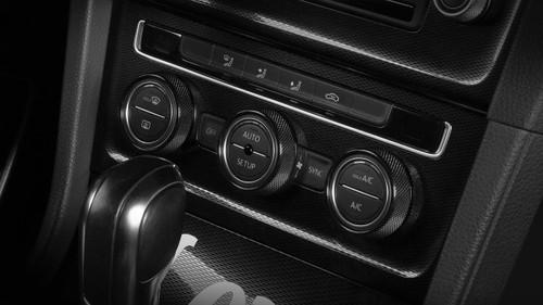 Leyo Motorsport Billet Aluminum Knobs(3pcs)(Black) - Golf Mk7