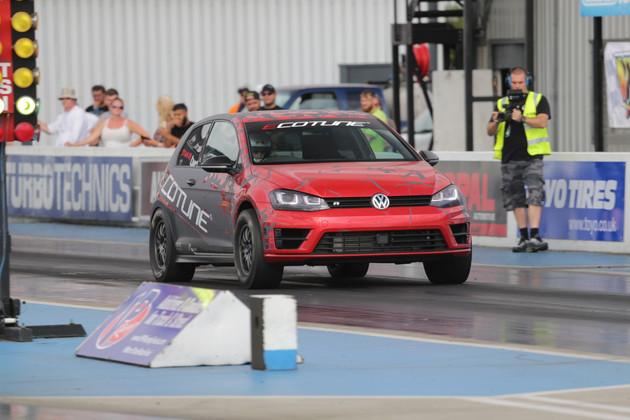 ECOTUNE BREAKS TWO MORE WORLD RECORDS WITH 9-SEC PASS IN GOLF R