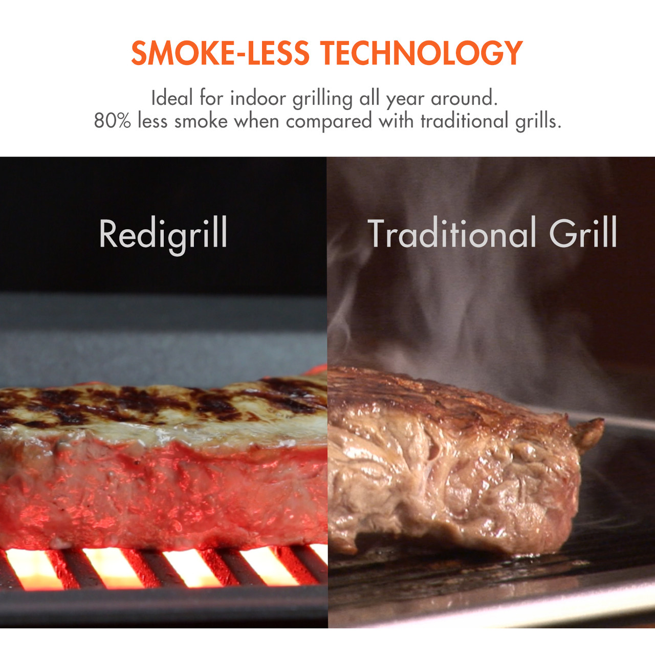 Redigrill Smoke-less Infrared Indoor Grill