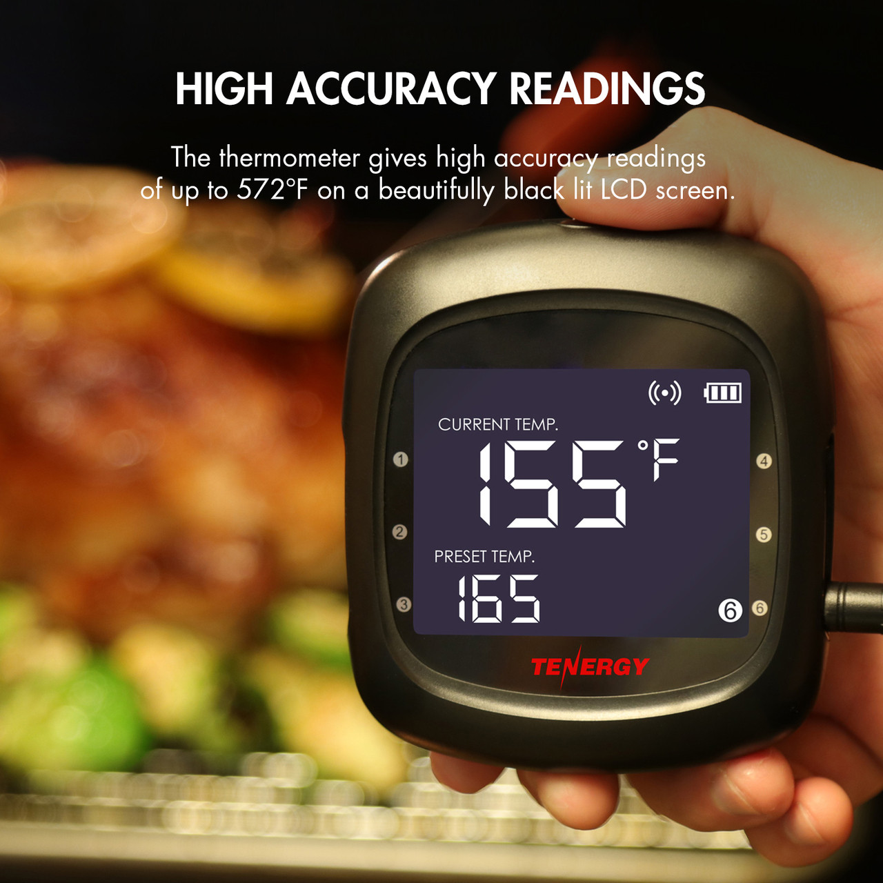 Solis Digital Thermometer (6 Probes)
