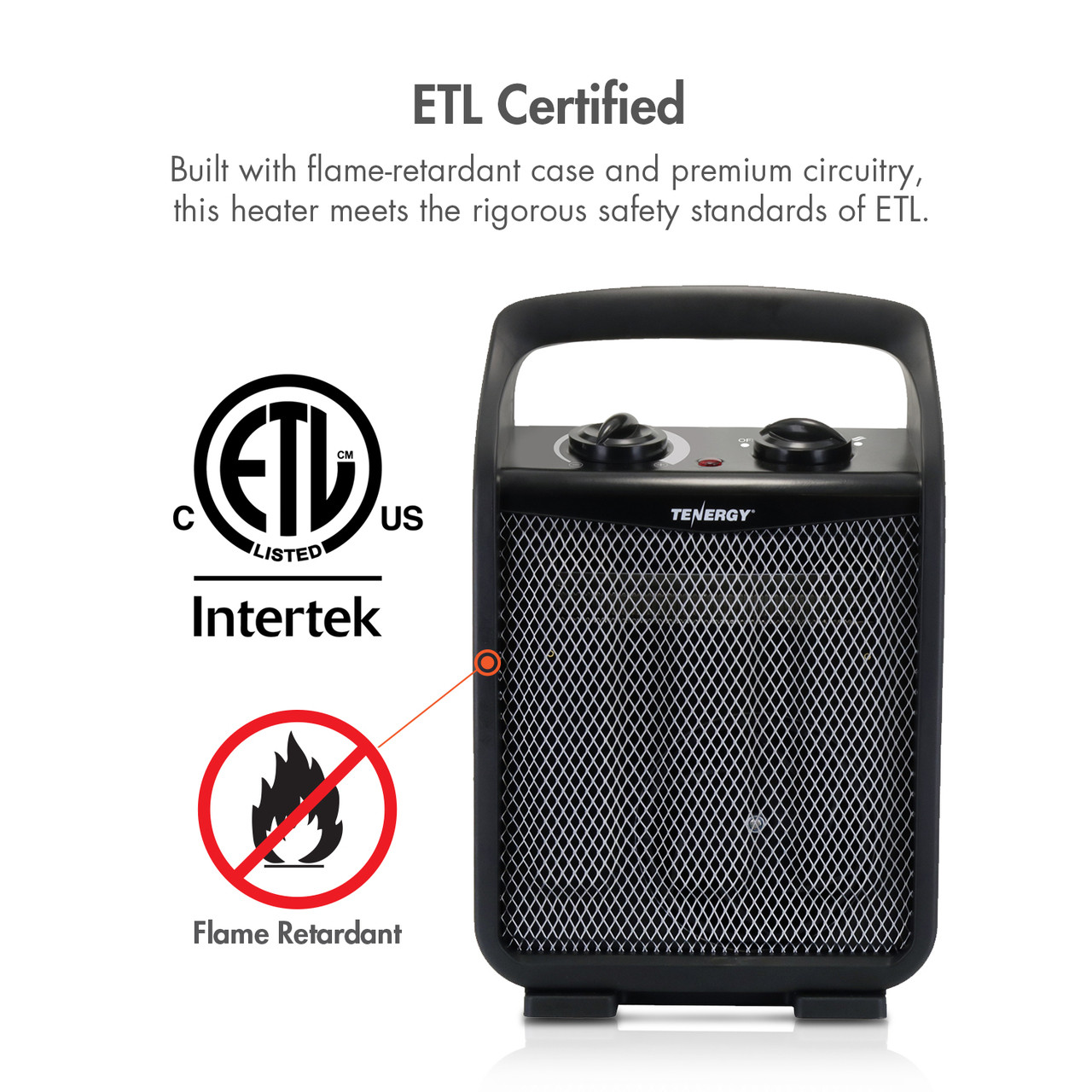 1500W Portable Space Heater