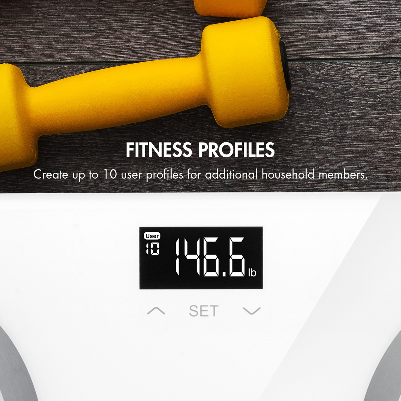 Vitalis Body Fat Scale
