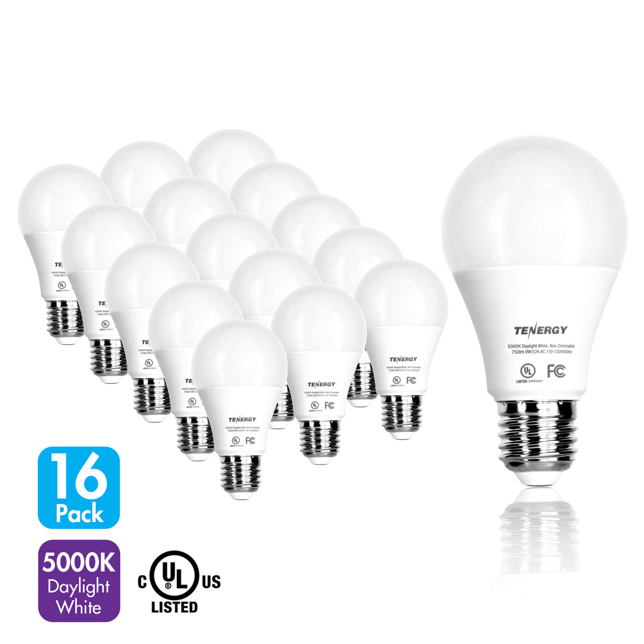 9W LED Bulb 5000K (Daylight White)
