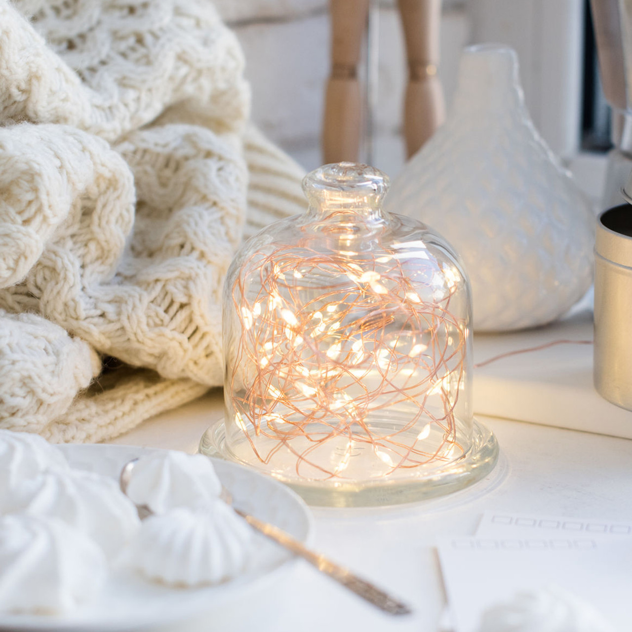 Battery Operated LED String Lights [2 Pack]