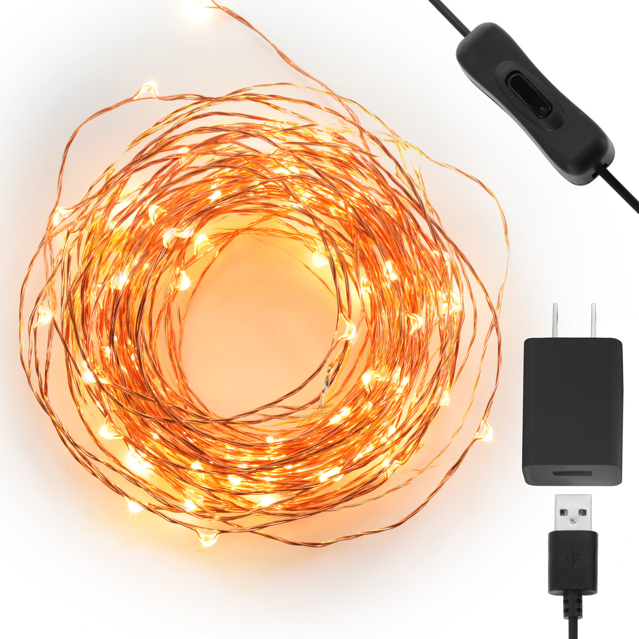 USB powered LED String Lights