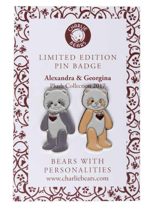 Pin Badge - Alexandra and Georgina