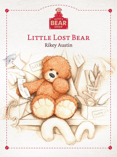Alice's Bear Shop - Little Lost Bear Book