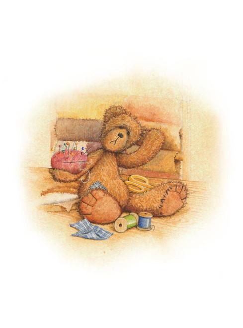 Alice's Bear Shop - Tat Art Print