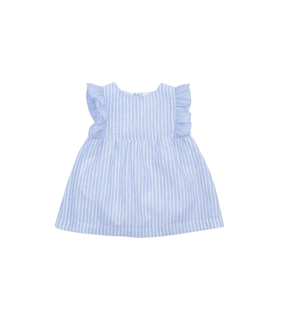 a82751e946 Girls Blue and White Dress - Coco Childrenswear