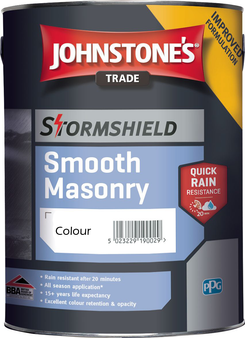 Johnstone's Smooth Masonry paint - Various Colours 5L
