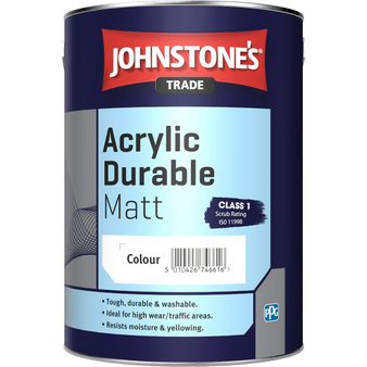 Johnstone's ecological Acrylic Durable Matt