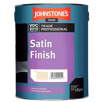 Johnstone's oil based Satin - Magnolia or Brilliant White