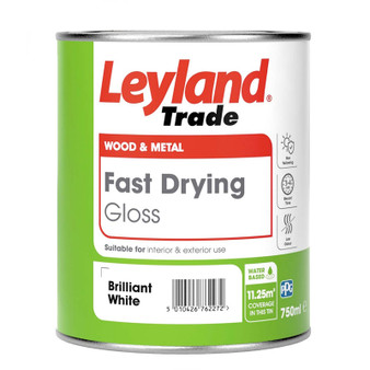 Leyland Fast Dry Gloss - Brilliant white