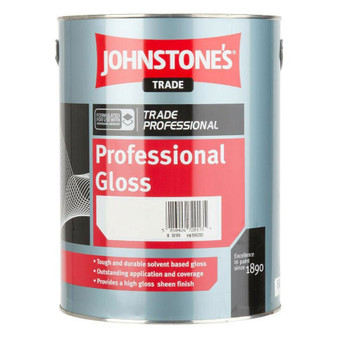 Johnstone's Professional Gloss - Magnolia or Brilliant White