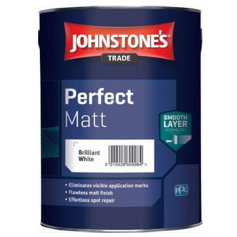 Johnstone's Perfect Matt - Brilliant White