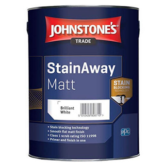 Johnstone's StainAway Matt - Brilliant White