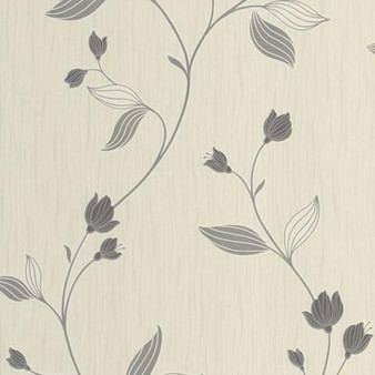 Fine Decor - Charlotte Floral Textured Wallpaper - FD31136