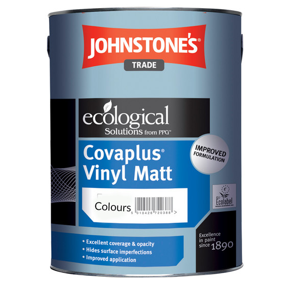 Johnstone's Vinyl Matt  - Various Colours
