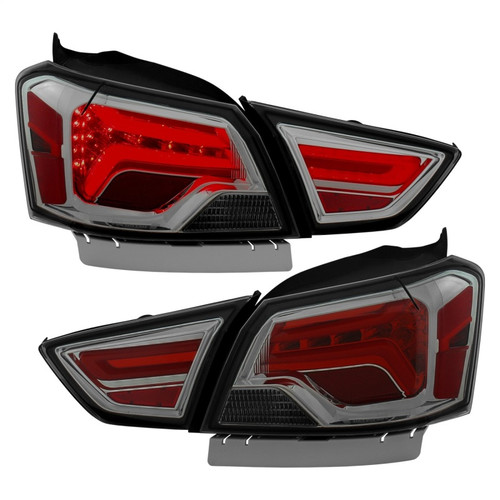 anz211163 ANZO for 1982-1994 Chevrolet S-10 Taillights Dark Smoke