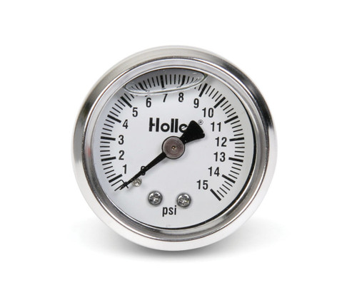 0-15 Psi Fuel Press Gaug