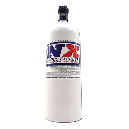 15lb. Nitrous Bottle - Std. PF Valve