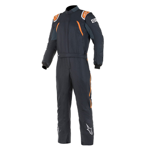 GP Pro Suit Large Black / Fluo Orange