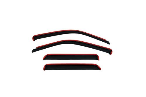 AVS 00-04 Nissan Xterra Ventvisor In-Channel Front & Rear Window Deflectors 4pc - Smoke