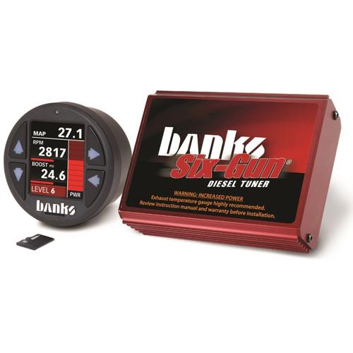 Banks 06-07 Dodge 2500/3500 5.9L Diesel Six-Gun Diesel Tuner w/ iDash-1.8 DataMonster