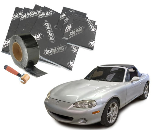 DEI 90-05 Mazda Miata NA & NB Interior Floor Vibration Damping Material Kit