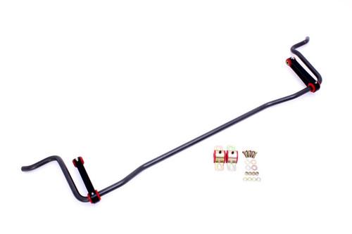 BMR 05-10 S197 Mustang Rear Solid 22mm Sway Bar Kit w/ Bushings & Billet Links - Black Hammertone