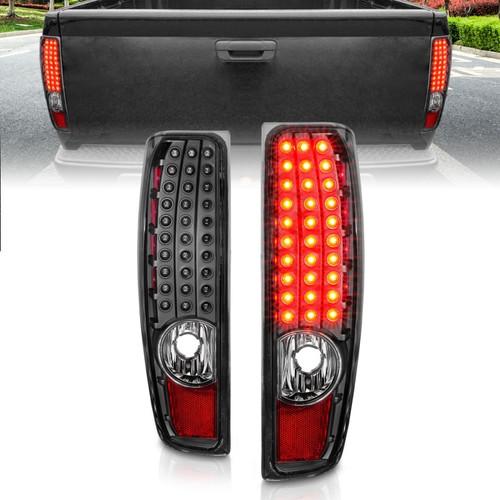 Anzo 04-10 Chevy Colorado LED Tailights G2 - Black