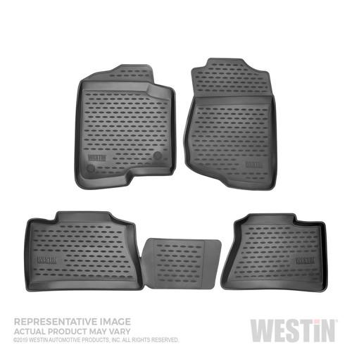 Westin 13-17 Subaru Crosstrek Profile Floor Liners 4pc - Black