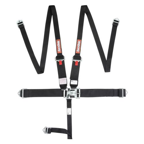 5pt Harness Set HNR L&L Black Hans Style belts