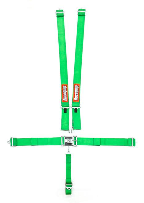 5pt Harness Set L&L Green SFI
