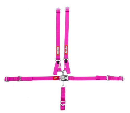 5pt Harness Set Jr LL Pink