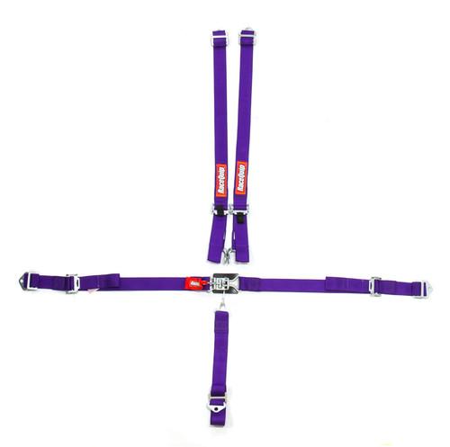 5pt Harness Set Jr LL Purple