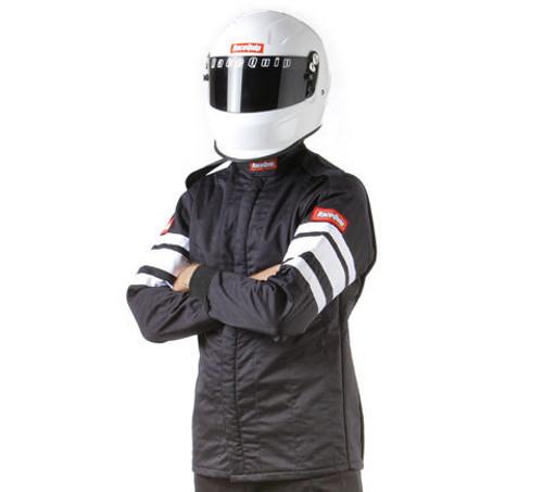 Black Jacket Multi Layer 4X-Large