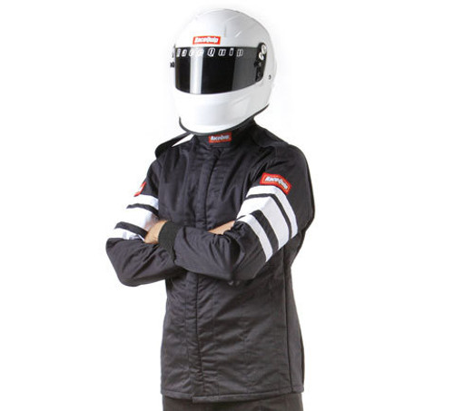 Black Jacket Multi Layer Large